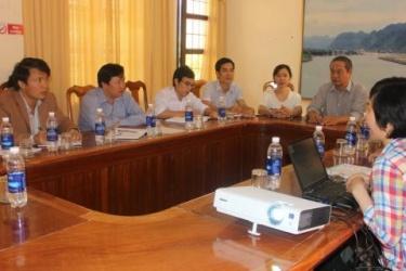 BQL VQG Phong Nha – Kẻ Bàng làm việc với đoàn công tác Viện địa chất - Viện hàn lâm khoa học và Công nghệ Việt Nam